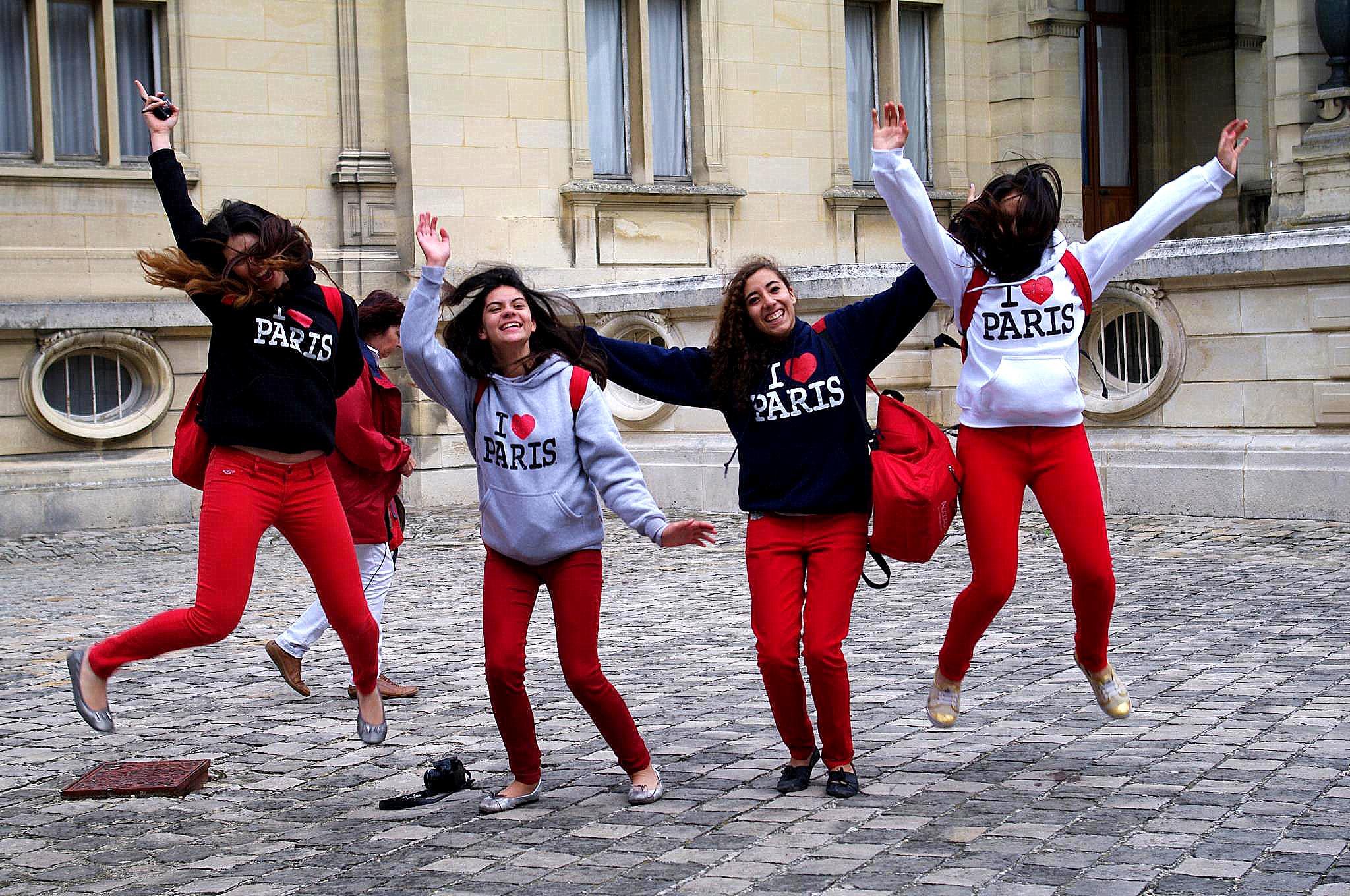 Francés para jovenes en Paris