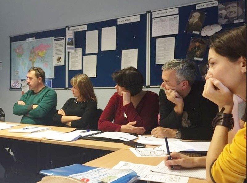 Curso para profesionales en Bournemouth