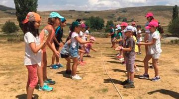 Campamento de verano en Avila